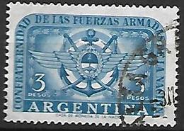ARGENTINE    -   Marine De La Nation  /  Ancre,  Oblitéré. - Argentine