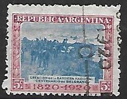 ARGENTINE    -   1920 .  Y&T N° 253 Oblitéré - Argentine