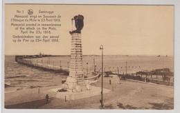 Zeebrugge Memorial Erige En Souvenir De L'Attaque Du Mole - Zeebrugge