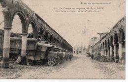 ROYE - ENTRÉE DE LA SUCRERIE DE M.MANDRON  - LA FRANCE RECONQUISE (1917) - Roye