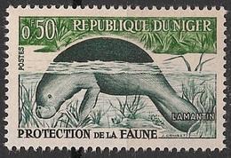 Lamantin (Animaux) - Niger - 1959 - Niger (1960-...)