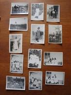 13 Photos De La Vie D'une Femme Marseillaise Années 1930-50 - Personnes Anonymes