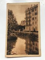 Carte Postale Ancienne AIX-les-Bains Hôtels SPLENDIDE & EXELSIOR - Aix Les Bains