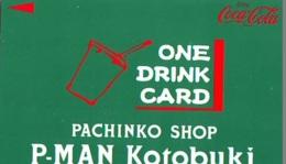 Carte Prépayée  Japon *  * COCA COLA  (2161)  *  JAPAN Phonecard *  PREPAID CARD - Publicité