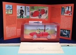 Voiture Tintin Atlas 2ème édition : Tintin En Amérique Livrée Avec Son Livret Et Son Cert. D'authenticité. - Kuifje