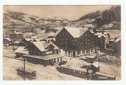 SUISSE - GSTAAD - Carte Photographique /Real Photo Pc - Station De TRAIN / Bahnhof / Train Station - BE Berne