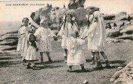 (103)  CPA  Penmarch  Jeux D' Enfants   (Bon état) - Penmarch