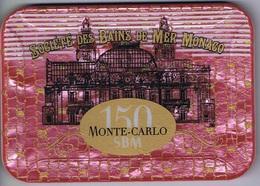 Casino Chip Plaque Société Des Bains De Mer Monte Carlo Monaco 150 SBM - Casino