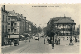 CPA - Belgique - Brussels - Bruxelles - Schaerbeek - Place Liedts - Schaarbeek - Schaerbeek