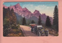 OLD POSTCARD - ITALY - ITALIA -  AUTO - PRESSO S. MARTINO DI CASTROZZA - Trento