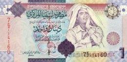 Libya 1 Dinar, P-71 (2009) - UNC - Signature 10 - Libya