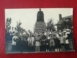 CDV PHOTOGRAPHE BRAINE L ' ALLEUD BRABANT WALLON BELGIQUE COMMUNIANTS EN 1945 RETRAITE RETHORIQUE 27 PHOTOS DE FAMILLE - Persone Anonimi