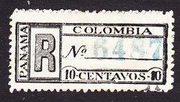 Panama, Scott #F3 Reprint?, Mint Hinged, Registration Stamp, Issued 1900 - Panama
