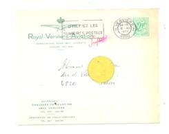 Enveloppe à Entête : Royal Verviers Aviation En 1972 - Laboru (van) - Belgium