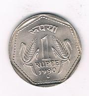 1 RUPEE  1990  INDIA /4173// - Inde