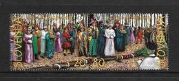 SLOVENIE 1998 CARNAVAL YVERT N°202/03 NEUF MNH** - Slovenia