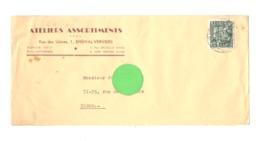 Enveloppe à Entête : ATELIERS ASSORTIMENTS à ENSIVAL ( Verviers ) En 1949 (van) - Belgium
