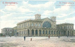 St. Petersbourg (St. Petersburg), La Gare De Chem. De Fer Baltique  (Station) (Railway) - Rusland
