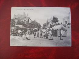 Carte Postale Ancienne De La Baule: La Place De La Chapelle - La Baule-Escoublac