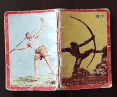 MILITARIA: Agenda Du Jeune Français 1937. Calendrier 1937-armée-engagement Militaire - Documents