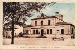 CERONS - La Mairie Et Les Eglises   (113845) - France