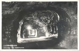 Luxembourg (Luxemburg), Interieur Des Casemattes (fotokaart) - Luxemburg - Stad