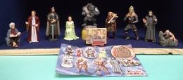 Kinder 2002 : Série Complète Seigneur Des Anneaux ( 2ème Série ) Comportant 9 Figurines + Un Livret. (SUPERBE !) - Kinder & Diddl