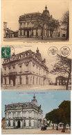 COUTRAS - 3 CPA De L' Hotel De Ville Ou Mairie (113846) - France