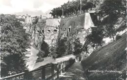Luxembourg (Luxemburg), Fortifications (glansfotokaart) - Luxemburg - Stad