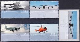 2019-0155 Germany 2008 Aviation Airplanes Complete Set Mi 2670-2673 + S-adh Mi 2676 MNH ** - [7] République Fédérale