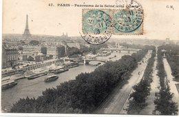 DEPT 75 : édit. C M N° 47 : Paris Panorama De La Seine Coté Ouest - Other