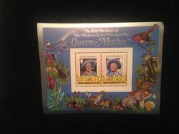 Montserrat 85th Birthday Of Queen Mother S/S Mint - Montserrat