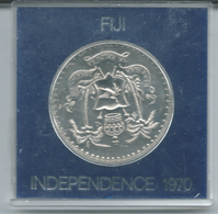 Fiji - Elizabeth II - 1970 - 1 Dollar - Independence - KM33 - Fiji