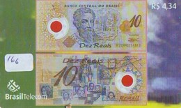 BRASIL * TELECARTE * BILLET De Banque * (166) Banknote * Japan Phonecard  GELDSCHEIN * Coin * BANKBILJET - Stamps & Coins