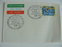 1984  MARCIALONGA DI FIEMME E FASSA SPORT SCI SKI CAVALESE FIRST DAY PREMIER JOUR MAXIMUM FDC      FDC BUSTA - 1946-.. République