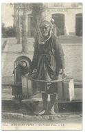 CPA ALGERIE / UN PORTEUR D'EAU / NEUVE - Professions
