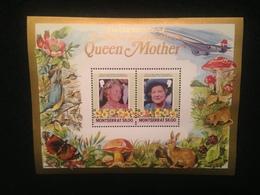 Montserrat 85th Birthday Of Queen Mother $6 S/S Mint - Montserrat