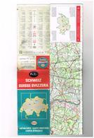 Pub  ESSO - Fr.1. - Schweiz  Suisse Svizzera - Autokarte  Carte Routière  Carta Stradale 1/510000 - Esso Touring Service - Roadmaps