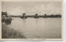 -58 -NIEVRE -FOURCHAMBAULT -   Le Pont Suspendu - Ponts