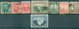 Afrique Du Sud Ouest  - Lot Timbres Oblitérés - Yt 1 - 2 - 16 - 35 - 40 - 41 - 42 - 53 - - South West Africa (1923-1990)