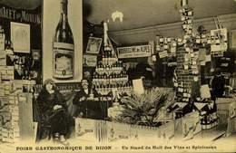 21 DIJON /  FOIRE GASTRONOMIQUE Un Stand Du Hall Des Vins Et Spiritueux / A 438 - Dijon