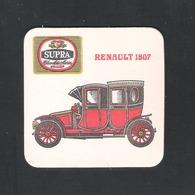 Bierviltje - Sous-bock - Bierdeckel : SUPRA - CHEVALIER MARIN - MECHELEN -  RENAULT 1907   (B 1127) - Sous-bocks