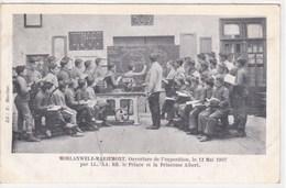 Belgique - Morlanwelz-Mariemont - Ouverture De L'exposition, Le 12 Mai 1907 Par LL. ARR. Le Prince Et La Princesse Alber - Morlanwelz
