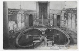 (RECTO / VERSO) LUXEUIL EN 1931 - N° 77 - L' ETABLISSEMENT THERMAL - PISCINE DES CAPUCINS - BEAU CACHET - CPA VOYAGEE - Luxeuil Les Bains
