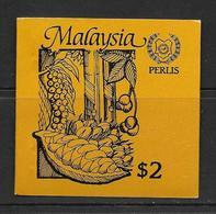 MALAYSIA-PERLIS 1987 CARNET AGRICULTURE YVERT N° NEUF MNH** - Malaysia (1964-...)