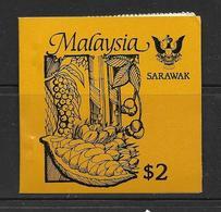 MALAYSIA-SARAWAK 1987 CARNET AGRICULTURE YVERT N° NEUF MNH** - Malaysia (1964-...)