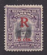 Panama, Scott #F30, Used, Registration, Issued 1916 - Panama