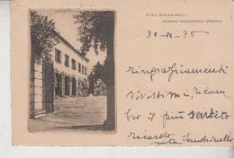 PADERNO FRANCIACORTA BRESCIA CASA SANDRINELLI 1935 - Brescia