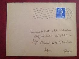 Sathonay Camp Pour CTAC 691 - Storia Postale