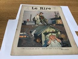 Le Rire Journal Humoristique  Les Amoureux Désolé 1912 - Newspapers